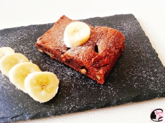 Brownie Choco-Banane 1