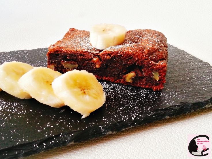 Brownie Choco-Banane