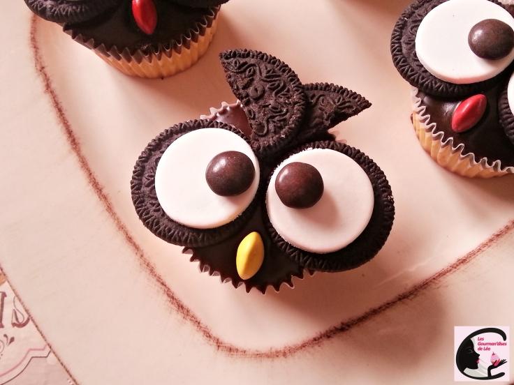 Chouette Cupcake 2