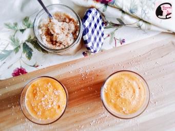 Mousse Abricot Sur Lit De Coco 2