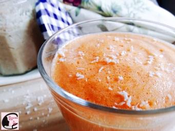Mousse Abricot Sur Lit De Coco 4