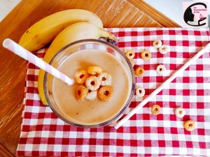 Smoothie Pomme Banane Cacahouète 2