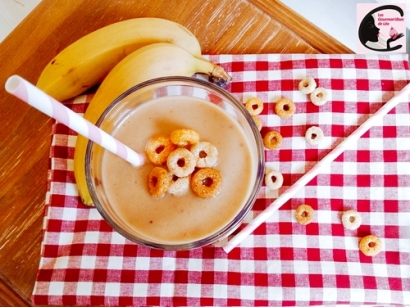 Smoothie Pomme Banane Cacahouète 2