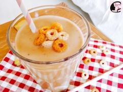 Smoothie Pomme Banane Cacahouète 3