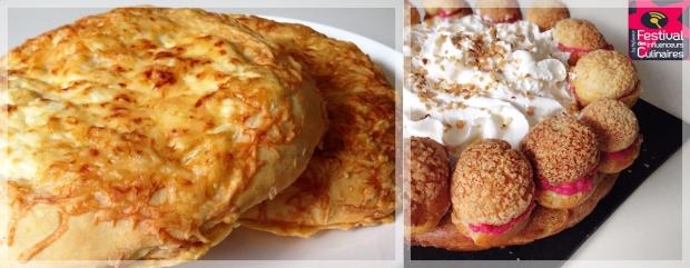 fougasse, focaccia, pain, pâte à pain, fromage, choux, gâteau, dessert, pâtisserie, chantilly, crème, craquelin