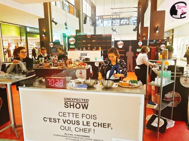 fédération française de cuisine, concours cuisine, cuisine, concours, recettes, créations culinaires, parly 2, le chesnay