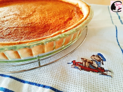 Thanksgiving, tarte, patate douce, cannelle, sucré, dessert, tradition américaine, USA, cuisine américaine, cuisine des USA